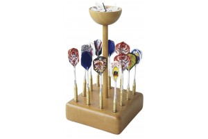 Wooden stand for Hausdarts.Ideal for the dart counter