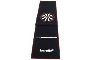 Darting mat Karella Premium VELOR, for steel and soft dart