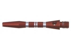 Shaft Alu Stripe short, approx. 35 mm, red