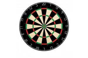 Dartboard WINMAU NPQ (1B) neutral without Winmau logo
