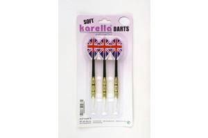 Karella Softdart Blister-Set 3 pcs. Thread 2BA (6mm)
