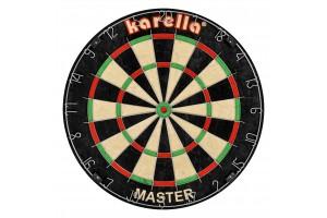 Karella MASTER competition dartboard, 4 pieces