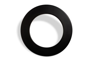 5 pieces Karella Dartboard Surround / Catchring, PU black
