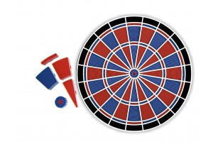 Replacement segments complete set for dartboard Karella Premium Silver