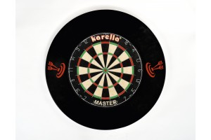 5 Stück Dart-Catchring (Dart-Auffangring),schwarz aus hochwertigem PU, Durchmesser ca. 70 cm , Gewicht 900 g