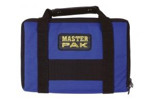 Darttasche MASTER-PAK - mit Ordnung zum Erfolg, Farbe blau