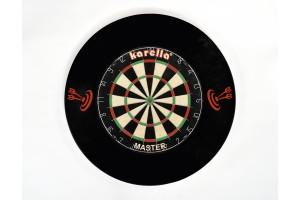 Dart-Catchring (Dart-Auffangring),schwarz aus hochwertigem PU, Durchmesser ca. 70 cm , Gewicht 900 g