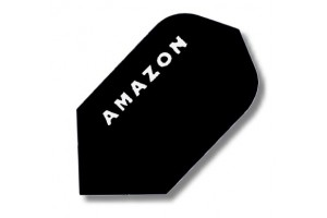 Dart-Flight Amazon Slim-Form, schwarz