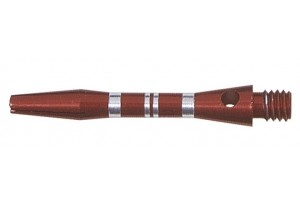 Shaft Alu Stripe short ,ca 35 mm, rot