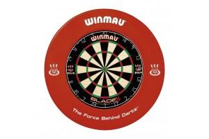Winmau Dart-Catchring (Dart-Auffangring),rot, 4405