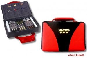 Darttasche MASTER-PAK MULTI- mit Ordnung zum Erfolg, Farbe rot / schwarz