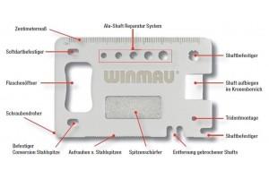 Winmau Präzisionswerkzeug Multi-Tool Profi 8393