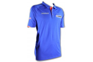 Winmau Polo-Dart Shirt Pro-Line blau 8397, Größe L