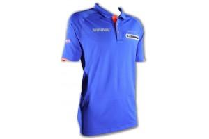 Winmau Polo-Dart Shirt Pro-Line blau 8397, Größe XL