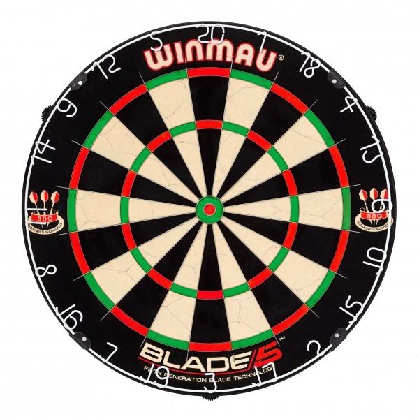 Foto Dartboard WINMAU Blade 5, 4 Stück BOA.MAU.8069.04-01