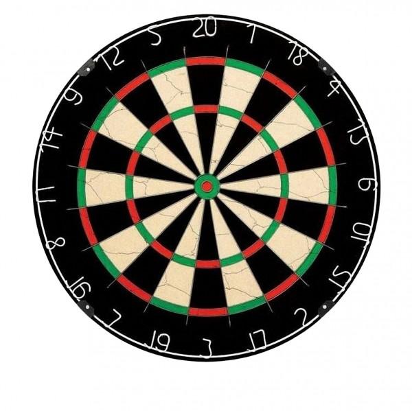 Foto Dartboard WINMAU NPQ (1B) neutral ohne Winmau Logo BOA.MAU.8069.15-01