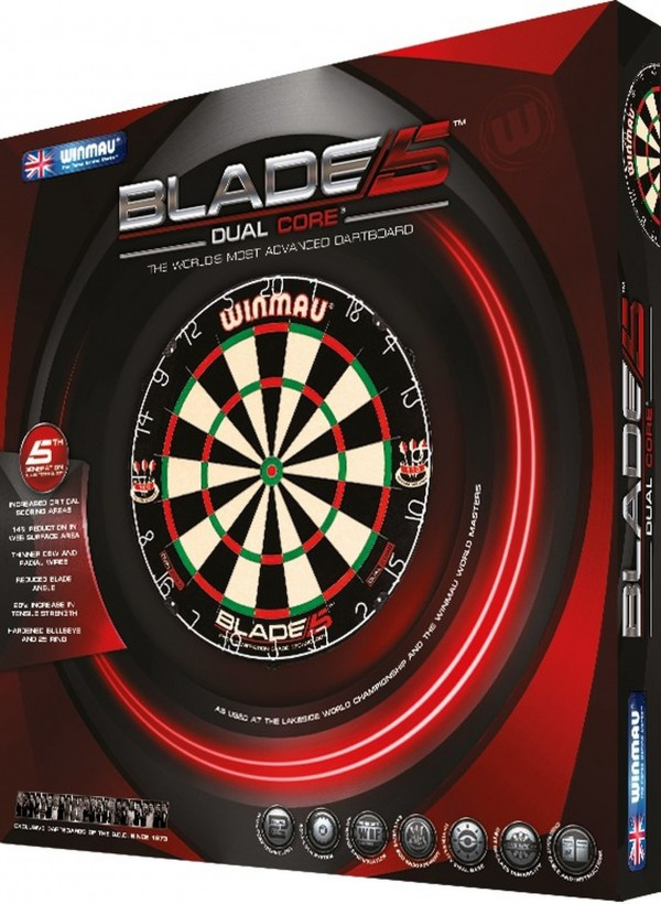 Foto Dartboard WINMAU Blade 5 DUAL CORE BOA.MAU.8069.06-01